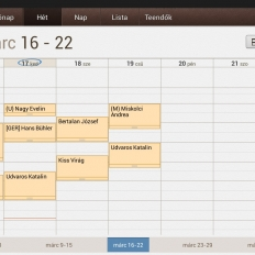 Berendelési napló Android-on