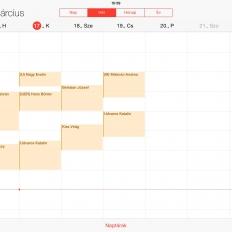 Berendelési napló Apple IOS-en